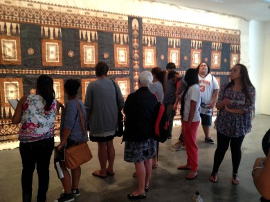 Pacific Art Histories: An Eccentric View class at Two Rooms Gallery (March 2013)