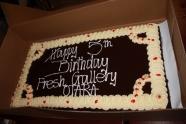 Chocolate Mudcake birthday cake (2011)