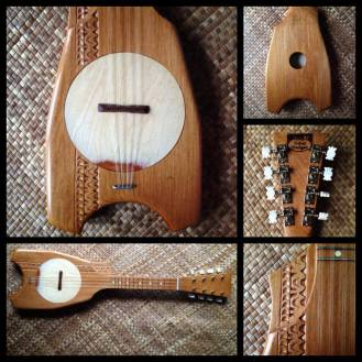 8-string Rimu ukulele by Clinton Hewett