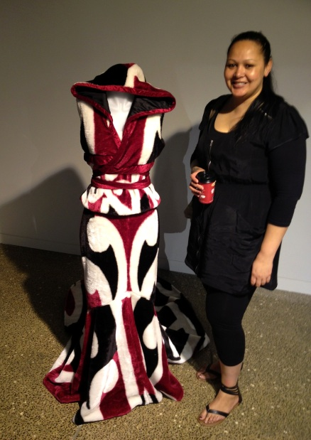 "Czarina Wilson and ""Maori Minx"" at Franklin Art Centre"