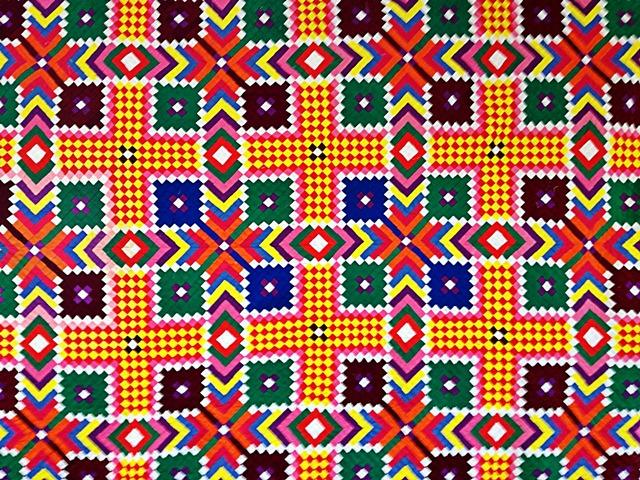 Tivaevae taorei by Julienne Temu Tohoatini Tuakana-Maru Gelling