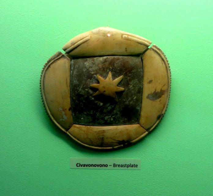 Civavonovono - Breastplate, Fiji Museum