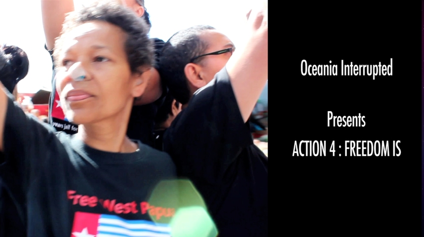 Oceania Interrupted Action 4: Freedom is...