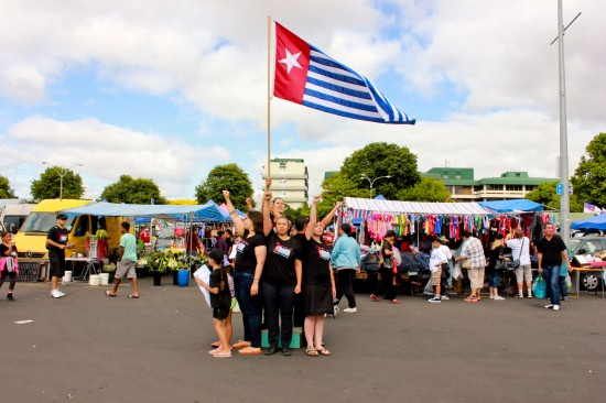 All I Want For Christmas Is A Free West Papua, photo by Tanu Gago