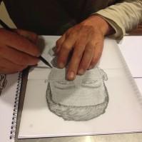 MALE - Maori or Polynesian IdentiKit Drawing Project