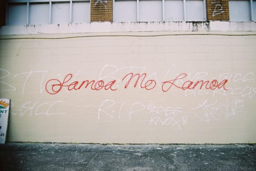 Samoa mo Samoa (2004) by Genevieve Pini