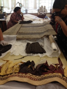The Veiqia Project visit, Fiji Museum (September 2015)