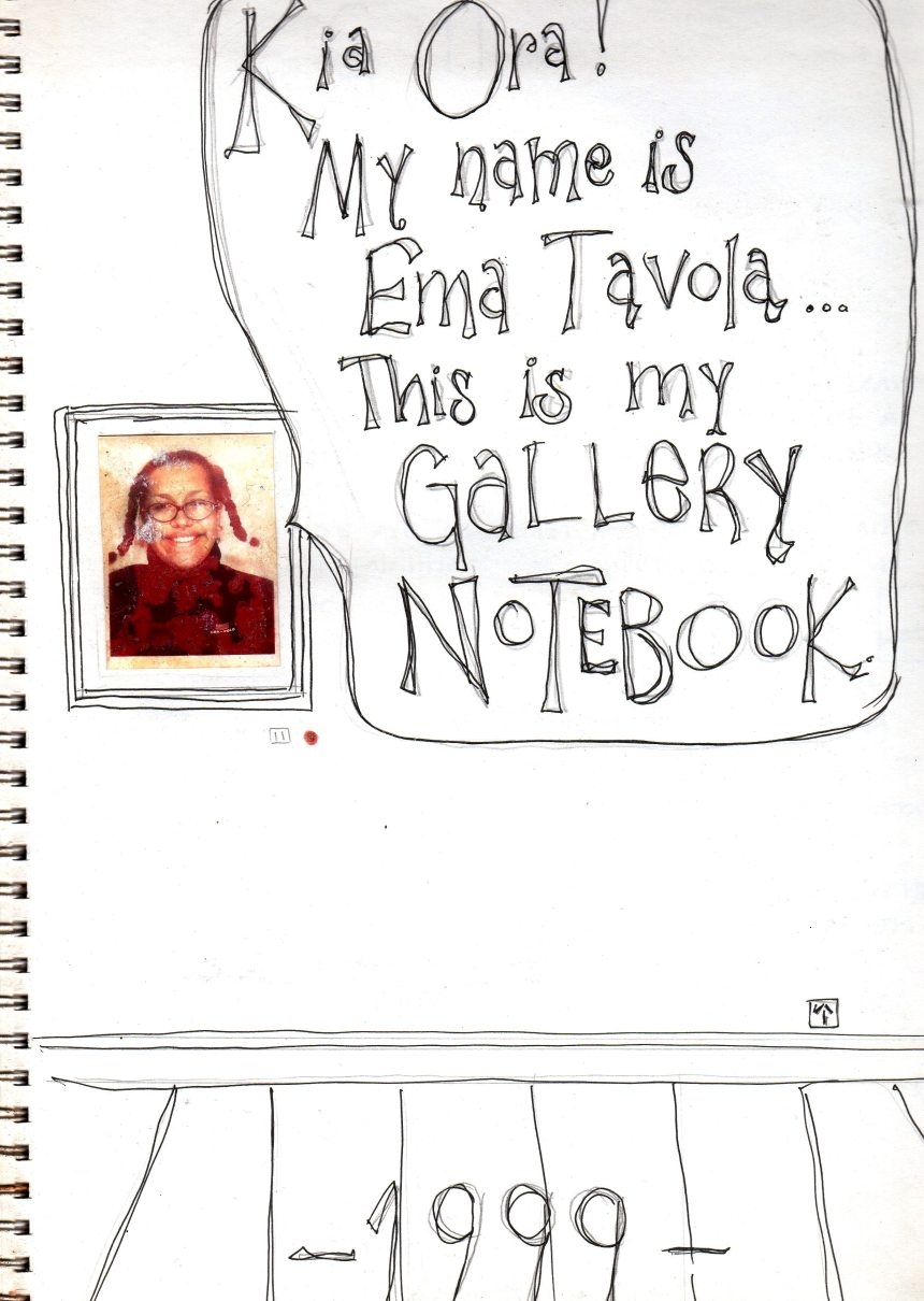 Gallery Notebook, Wellington High School (1999)