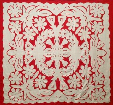Tiare Taina (Gardenia), by Moeroa O Daniela Iti (Rangi) Oberg, QSM (1932-2006)