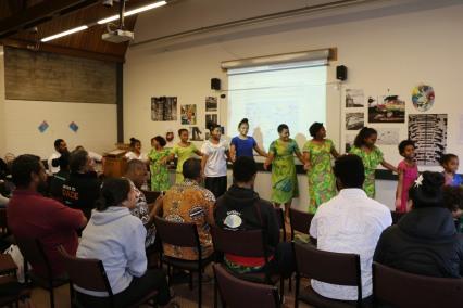 Meke by Christchurch Fiji community youth
